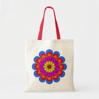 La flor bonita 6 de la lluvia bolsas de mano