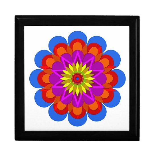 La flor bonita 6 de la lluvia caja de regalo