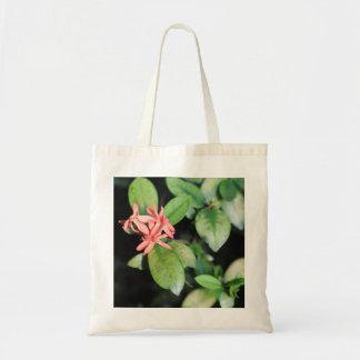 La flor coralina exótica tropical, Kew cultiva un Bolsa Tela Barata