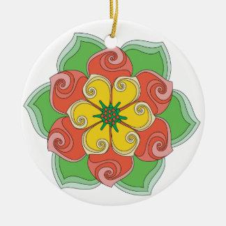 La flor de Annette Ornamentos De Reyes