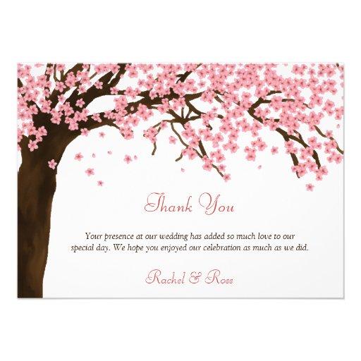 La flor de cerezo/la acuarela de Sakura le agradec