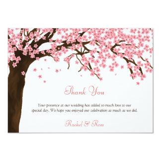 """La flor de cerezo/la acuarela de Sakura le Invitación 4.5"""" X 6.25"""""""