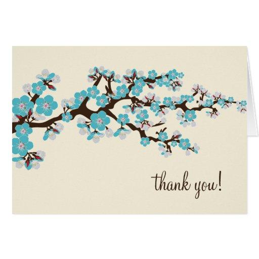 La flor de cerezo le agradece cardar con la foto ( felicitación