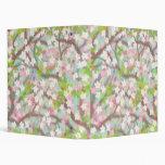 La flor de cerezo ramifica carpeta de Avery