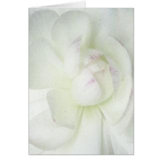 La flor de la mamá tarjetón