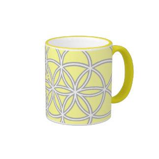 La flor de la taza de la vida