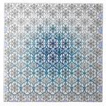 La flor de la vida azulejo