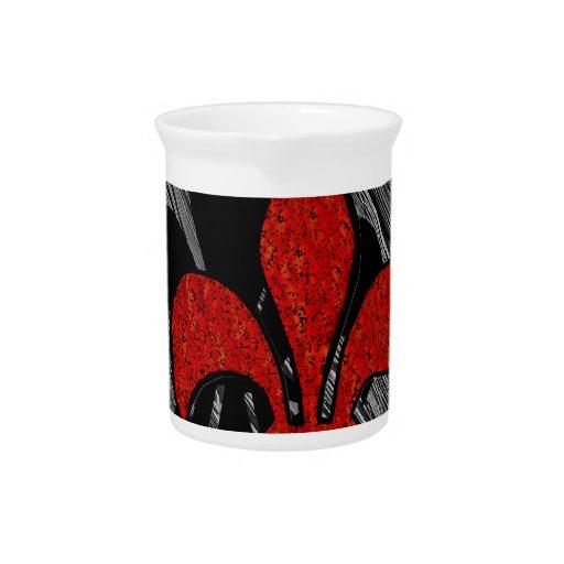 La flor de lis jarras de beber
