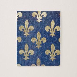 La flor de lis o la flor de lis puzzles con fotos