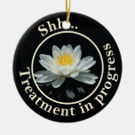 La flor de Lotus flotante no perturba