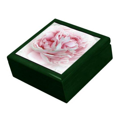 La flor del boda caja de regalo