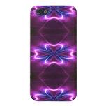 La flor del fractal un resplandor va iPhone 5 funda