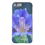 La flor del iris personaliza nombre funda barely there iPhone 6