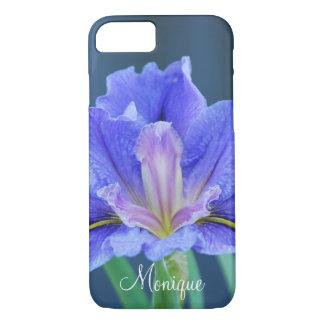 La flor del iris personaliza nombre funda iPhone 7