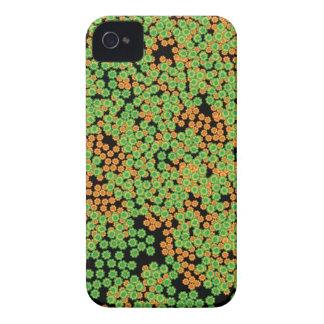 La flor enrrollada agrupa el modelo carcasa para iPhone 4 de Case-Mate