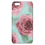La flor floral del caso del iPhone 5 subió moda la