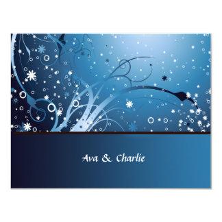 """La flor Frenzie personalizado agradece le/Notecard Invitación 4.25"""" X 5.5"""""""