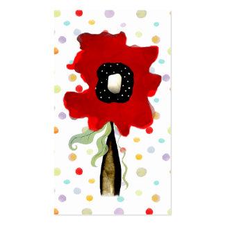 La flor remolina las líneas tarjeta de la cinta de plantillas de tarjetas de visita