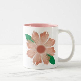 La flor se descolora taza de la escritura -- Varia