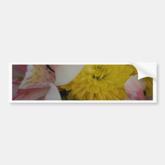 La flor sonríe arte y fotografía de CricketDiane Pegatina Para Auto