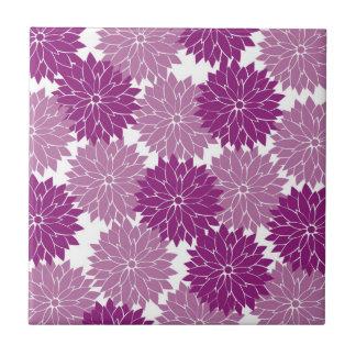 La flor violeta púrpura de la lavanda florece flor azulejos ceramicos