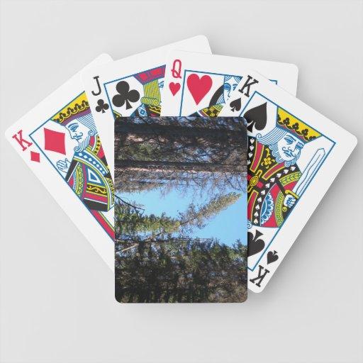 La flora de Kooskooskia Idaho planta la botánica P Baraja Cartas De Poker