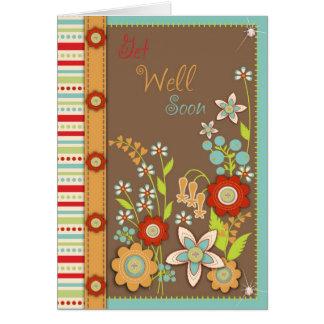 La floración consigue pronto la tarjeta bien