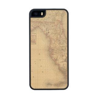 La Florida 10 Funda De Arce Carved® Para iPhone 5