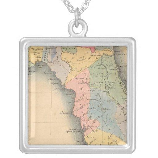 La Florida 3 Collar Plateado