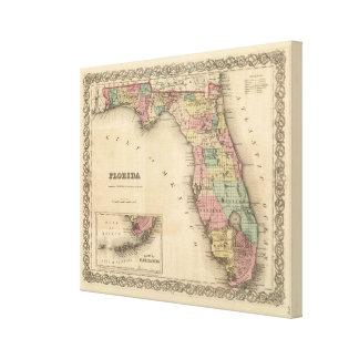 La Florida 7 Lienzo Envuelto Para Galerías