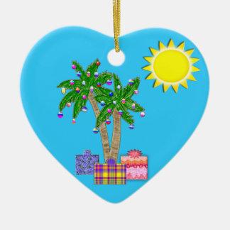 La Florida adorna el ornamento de las Felices Navi Adornos De Navidad