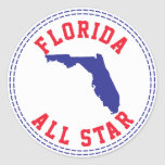 La Florida All Star Etiqueta Redonda
