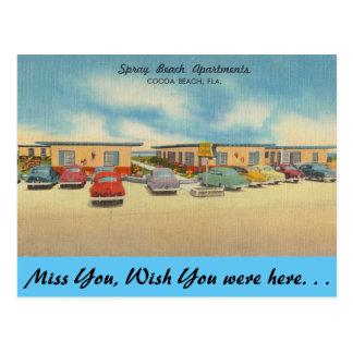 La Florida, apartamentos de la playa del aerosol, Postal
