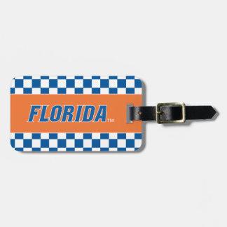 La Florida - azul y blanco Etiquetas De Equipaje