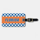 La Florida - azul y blanco Etiquetas Maleta