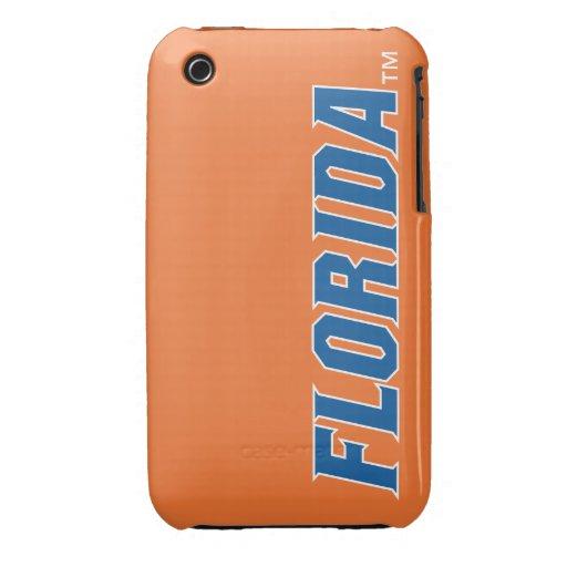 La Florida - azul y blanco iPhone 3 Case-Mate Cobertura