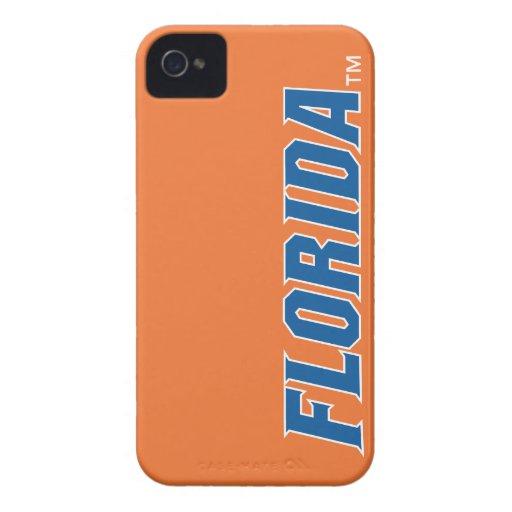 La Florida - azul y blanco Case-Mate iPhone 4 Fundas
