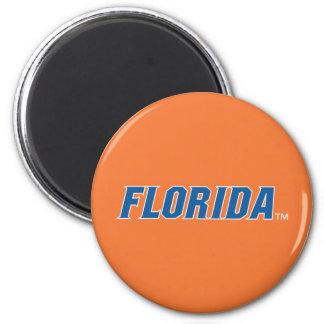 La Florida - azul y blanco Imanes Para Frigoríficos
