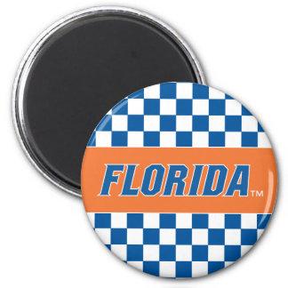 La Florida - azul y blanco Imán