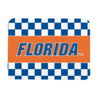 La Florida - azul y blanco Imanes Flexibles