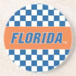 La Florida - azul y blanco Posavaso Para Bebida