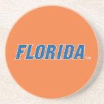 La Florida - azul y blanco Posavasos Para Bebidas