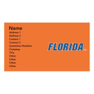 La Florida - azul y blanco Tarjeta De Visita