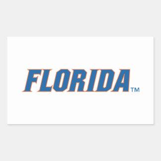 La Florida - azul y naranja Etiquetas