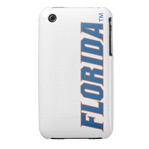La Florida - azul y naranja iPhone 3 Case-Mate Cobertura