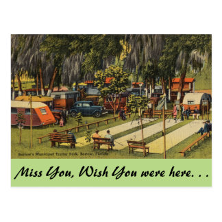 La Florida, Bartow, parque de caravanas municipal Postales