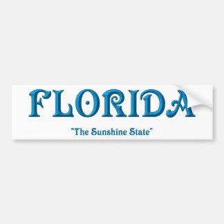 La Florida Etiqueta De Parachoque
