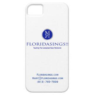 La Florida canta el caso de IPhone 5 iPhone 5 Cárcasas