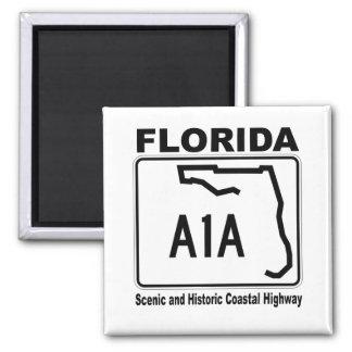 La Florida carretera costera escénica e histórica Imán Para Frigorifico