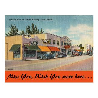 La Florida, carretera federal, Dania Postal